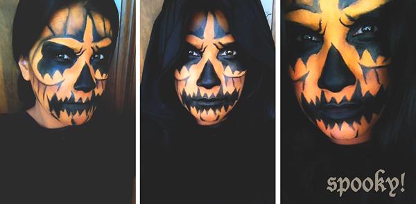 Creepy And Terrifying Pumpkin Makeup\'s For Halloween
