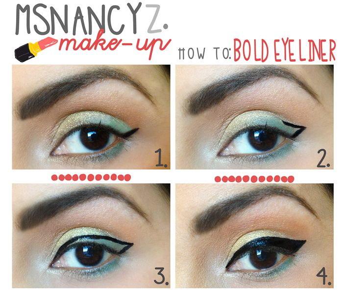 how to bold eyeliner