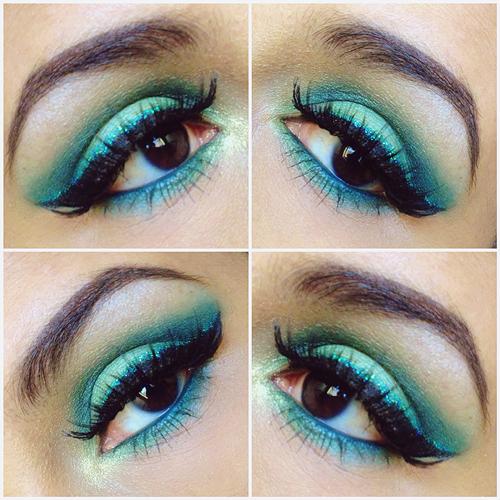 st pattys makeup look