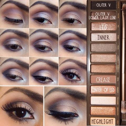 Urban Decay Naked 2 Makeup tutorial   nancyz blog