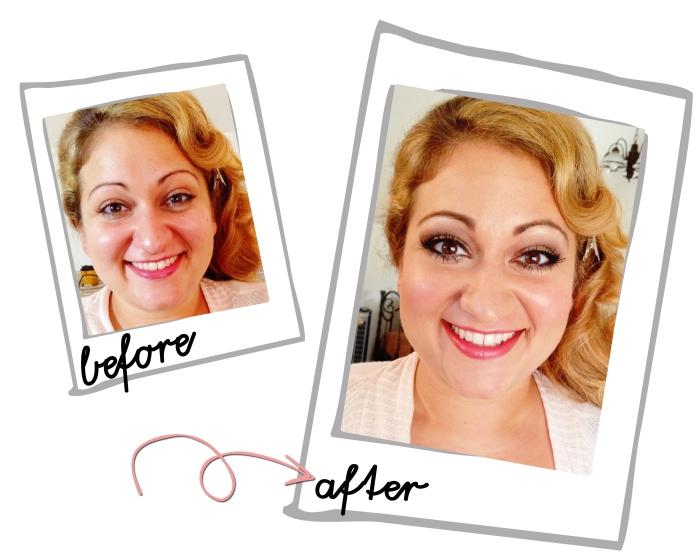 before and after bridesmaid lake arrowhead