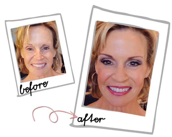 before and after film festival client