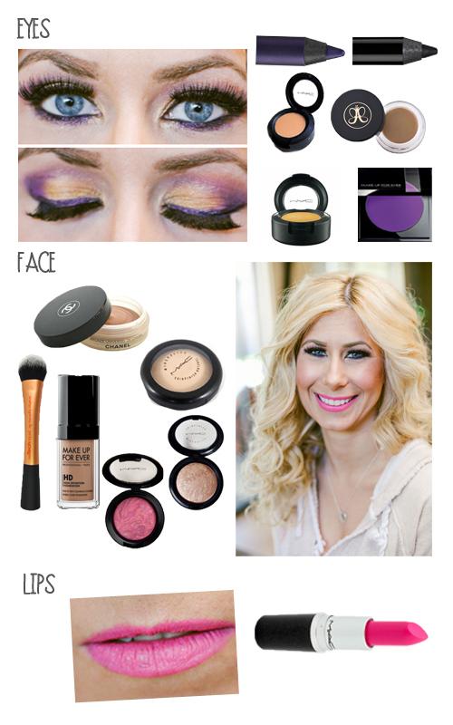 elanna makeup look